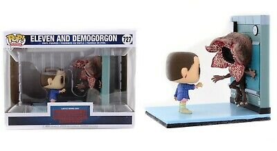 Funko Pop TV: Stranger Things - Eleven and Demogorgon Vinyl Figures #35033