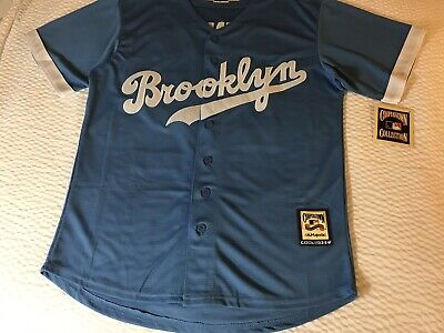 daba351d0 Brooklyn Dodger Cooperstown Jackie Robinson Jersey Mens Medium New W tags