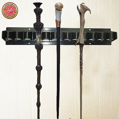 up to 12 Wand Stand Holder Collection For Wicca Pagan Potter Dumbledore Hermoine