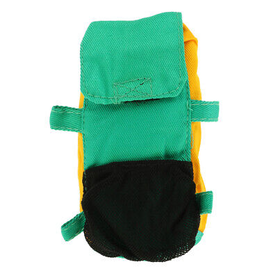 Green Travel Backpack Decor for 1/6 Soldiers Doll Clothes Accessory Toy Gift