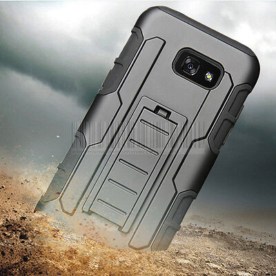 Hybrid Rugged Kickstand Case Shockproof Hard Cover For Samsung Galaxy A3/A5 2017