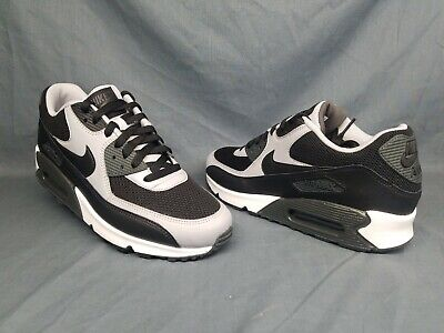 new products a7a20 2d17c Nike Men s Air Max 90 Essential Running Sneakers Black Wolf Grey Size 9  NWOB!