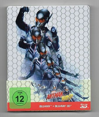 Ant-Man and the Wasp 3D - Blu-ray Steelbook - NEW / SEALED - All Regions: ABC
