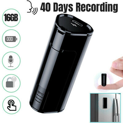 2019 New Hidden Digital Voice Activated Recorder Spy 16GB Audio Recording Device