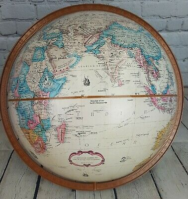 "Vintage 16"" Replogle World Classic 16"" Dual Axis Globe - No Stand"