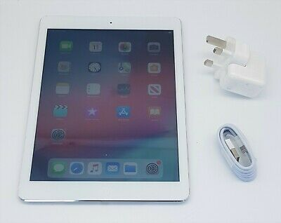 "Apple Ipad Air (1St Gen) - 9.7"" - 32Gb - Wifi Cellular 4G - Silver (Unlocked)"