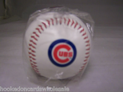 1 Chicago Cubs Team Logo Ball MLB Baseball Rawlings