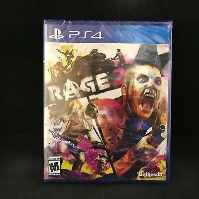 Rage 2 (PS4 / Playstation 4) Brand New / Region Free