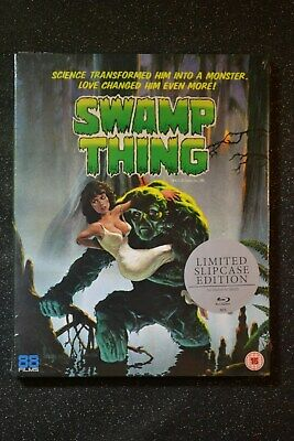 Wes Craven's Swamp Thing Blu-Ray UK Limited Edition Brand New & Sealed