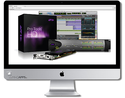 Avid Pro Tools HD v10.3.10 Producer for MAC lifetime activated digital delivery