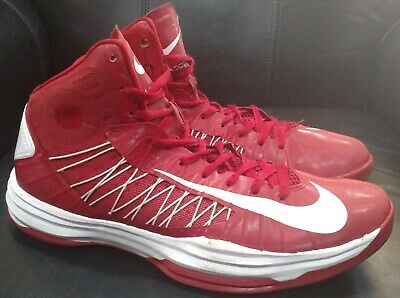 6c416cdd0fc Nike Air Zoom Hyperdunk 2012 Basketball Sneakers  Red  White  Men s Size 14