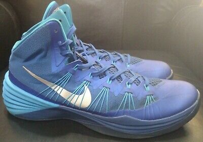 f926792560f NIKE HYPERDUNK 2013 Blue White Red Basketball Shoes 630852 Sneakers ...