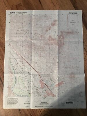Doña Ana New Mexico NM USGS Topographic Map Topo 7.5 Minute Mesilla Valley