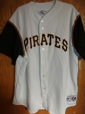 ba274fb82 Used Authentic Vintage Pittsburgh Pirates Jersey Size 2XL Majestic FREE  SHIPPING
