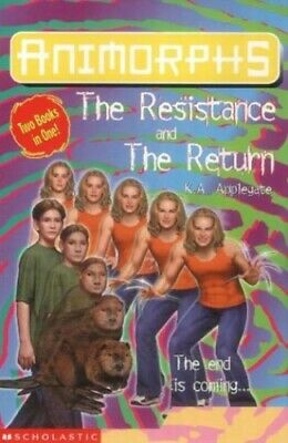 The Resistance: AND The Return (Animorphs) by Applegate, Katherine Paperback The