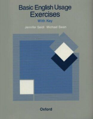 Basic English Usage Exercises: With Key by Swan, Michael Paperback Book The Fast