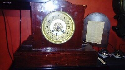 Antique chime mantel clock