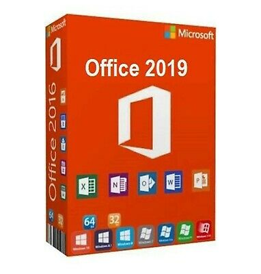 Microsoft Office Pro Professional Plus 2019  - Instant Delivery - Original Key