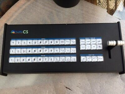 Control Panel Surface Keyboard with T-Bar for vMix Software - USB Plug n Play r2