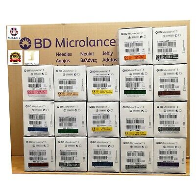 Needles Microlance™ BD Sterile Hypodermic Needles Medical Clinical NHS approved