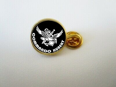 Pins Pin's Badge Commando Hubert Marine France - Finition Or Ou Argent