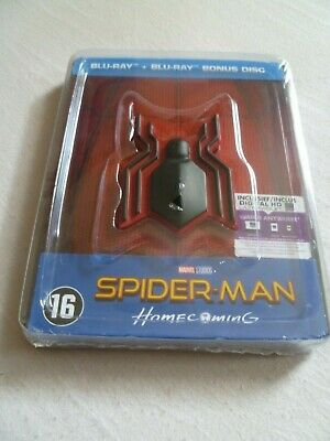 Spider-Man: Homecoming - Blu-ray Steelbook - with Magnet - NEW/SEALED