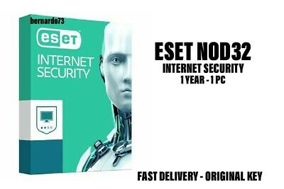 ESET NOD32 Internet Security 2019 1 PC , 1 Year, GLOBAL, ESD Antivirus