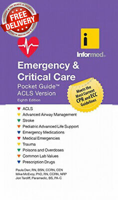 Emergency & Critical Care Pocket Guide 8th Edition