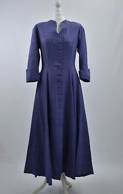 Vintage Droopy and Browns Angela Holmes Coat Dress Lavender Edwardian Wedding 12