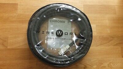 WireWorld Chroma 5 HD15 VGA Cable - 9.0m. Massive 50% OFF