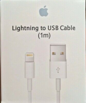 Original Charger For Apple iPhone 7 Plus USB Cable Lightning OEM X 8 6 5 Genuine