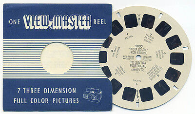 Costa Do Sol from Estoril to Sintra Portugal 1955 ViewMaster Reel 1805