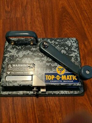 """Top-O-Matic Rolling Machine """"Limited Edition"""" Colors Tobacco Injector Cigarette"""