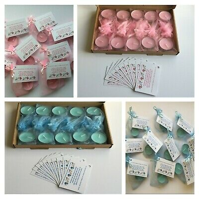 Personalised Baby Shower Scented Candle Favours, Charades, Guest Book, Sweets