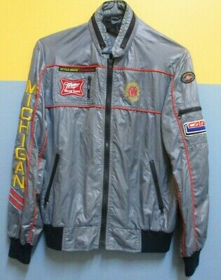 AUTHENTIC RETRO PIT CREW JACKET 60's - 70's  windbreaker LARGE