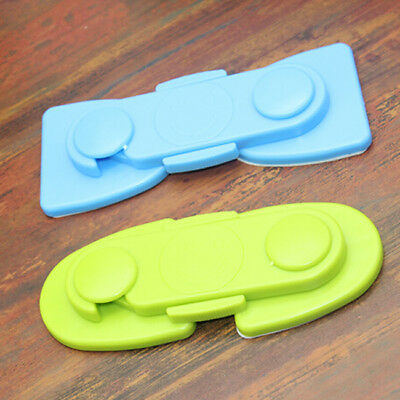 Child Kids Baby Safety Lock For Door Drawers Cupboard Cabinet Adhesive BM