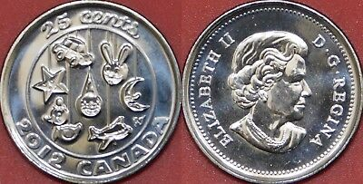 Proof Like 2012 Canada Baby 25 Cents From Mint's Set