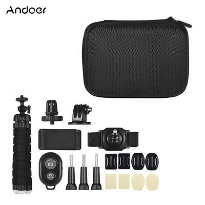 18 in 1 Sport Action Camera Accessories Kit for Go pro Hero 7/6/5 Xiaoyi UK H6W4