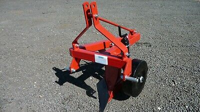 Single furrow plough for compact tractor