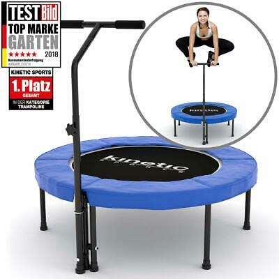 Fitness Trampolin 100-110cm KINETIC SPORTS Gummiseil Feder. Belastbarkeit 120kg