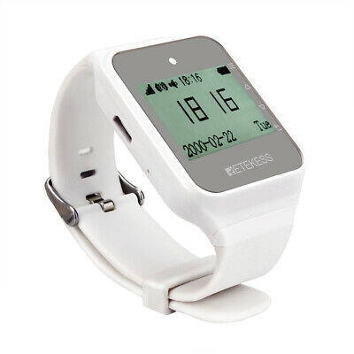 NEW Restaurant Wireless Watch Calling Receiver Waiter 433MHz Call Pager System