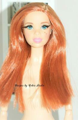 Gorgeous Red Head Barbie Doll~New Pivotal Model Muse Body~NUDE