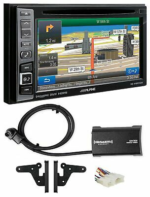 Alpine Bluetooth Receiver w/Navigation/GPS/DVD/XM For 2005-08 Toyota Matrix