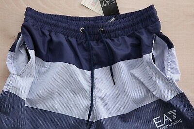 25a79d5d7b2 Emporio Armani Swimming Shorts Color Blocking EA7 Logo Trunks XL New Genuine