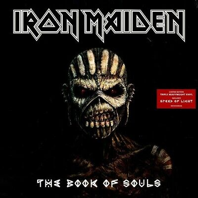 Iron Maiden The Book of Souls 3 x vinyl LP - 825646089208PMI