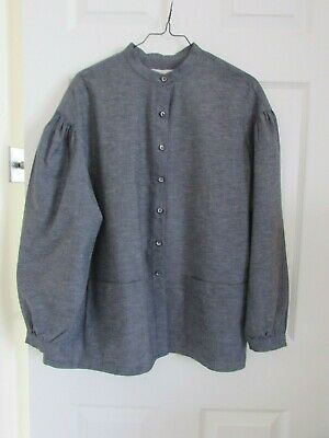 Ladies Vintage COUNTRY CASUALS Chambray  Tunic Top ~ Size 14