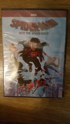 Spider-Man - Into the Spider-verse [DVD] new free post