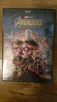 Avengers Infinity War DVD Brand New Sealed Fast & Free Delivery