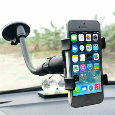 360° Windscreen Car Phone Holder Mount For iPhone 7 8P X XS MAX Samsung S8 S9