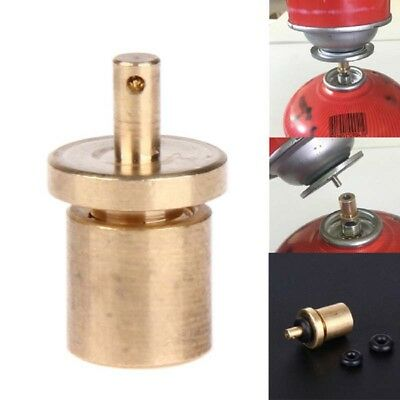 Gas Refill Adapter Filling Butane Canister for Outdoor Camping Stove Supplies AL